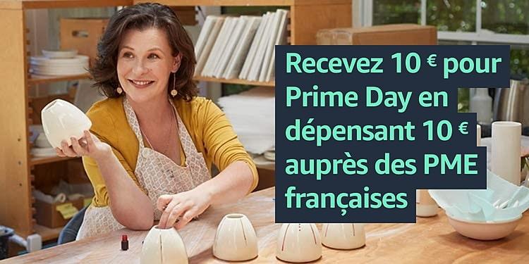 crédits gratuits Amazon Prime Day